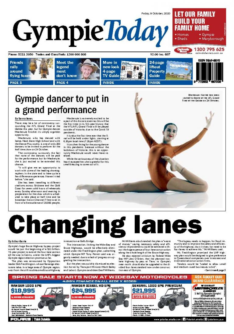 Gympie Today – 9th October 2020